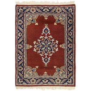 2' 2 x 3' 2 Isfahan Persian Rug