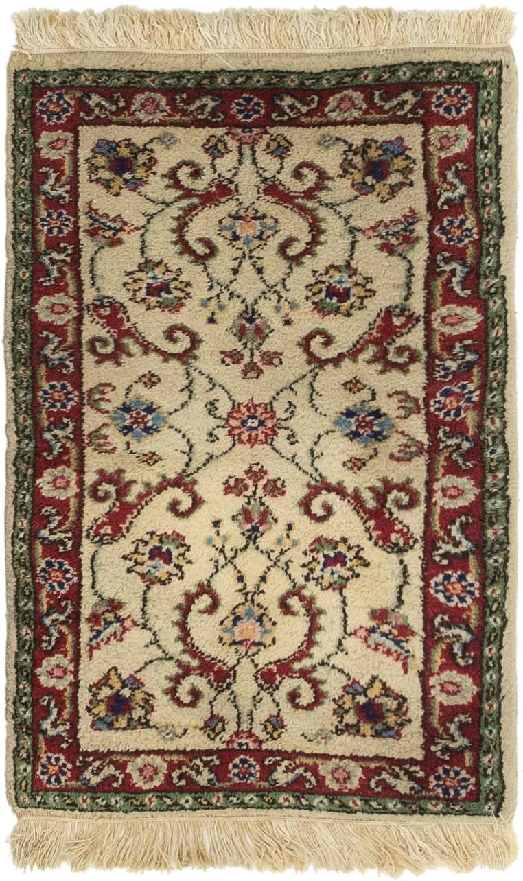 Cream 2 X 3 4 Sarough Rug Area Rugs Handknotted Com