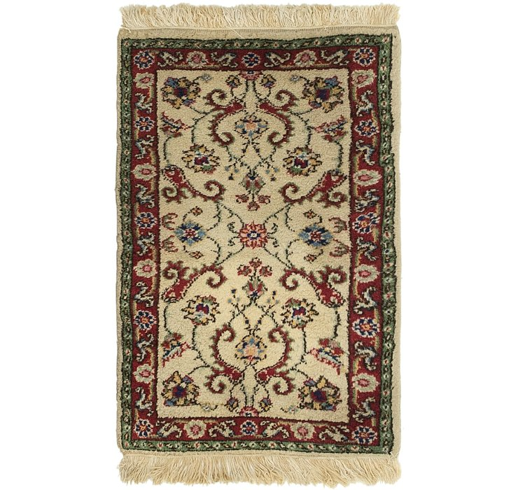 2' x 3' 4 Sarough Rug