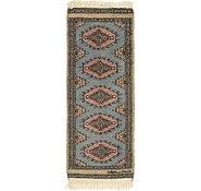 Link to 1' 2 x 3' 2 Bokhara Oriental Runner Rug