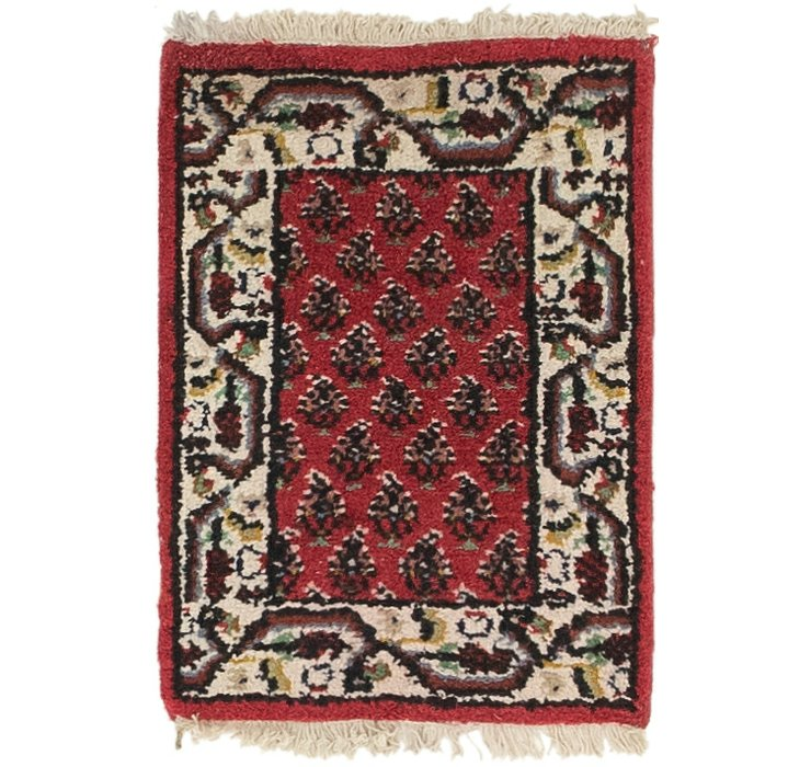 HandKnotted 1' 4 x 1' 10 Mir Rug