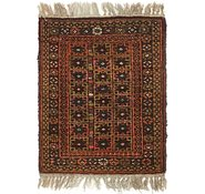Link to 1' 5 x 2' Balouch Persian Rug
