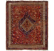 Link to 5' 5 x 6' 4 Ghashghaei Persian Square Rug