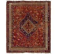 Link to 5' 5 x 6' 4 Ghashghaei Persian Square Rug