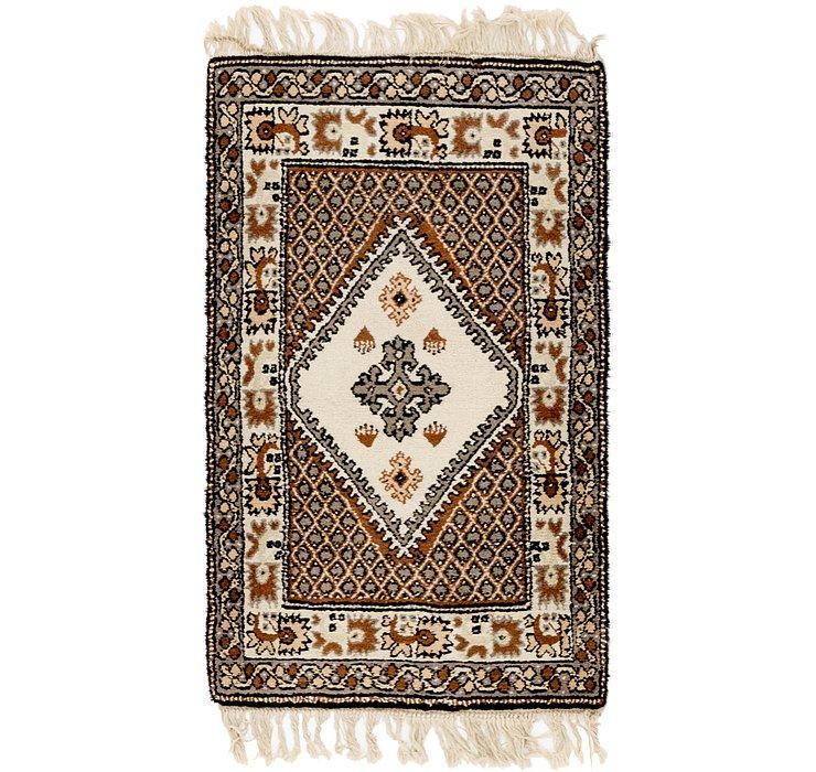 2' 6 x 4' 5 Moroccan Rug