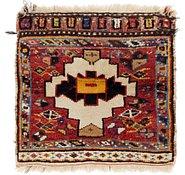 Link to 1' 9 x 1' 10 Shiraz Persian Square Rug