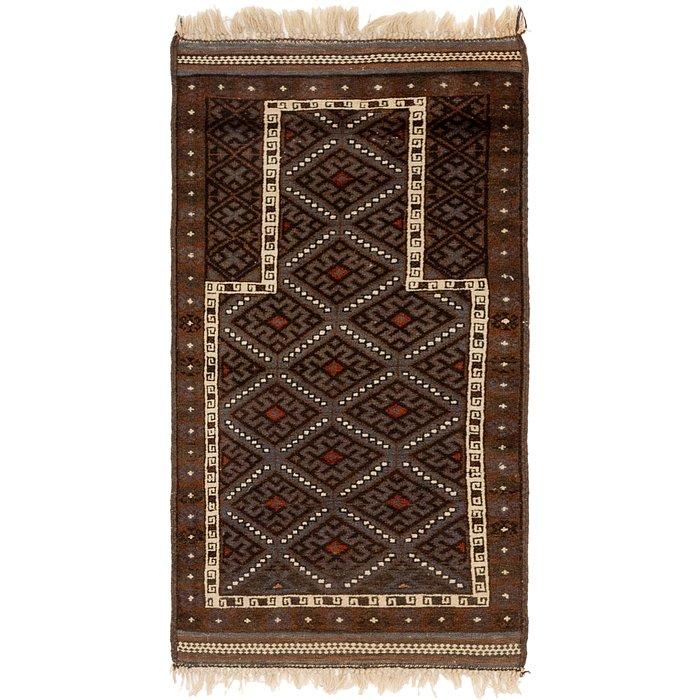 2' 3 x 4' 5 Balouch Persian Rug