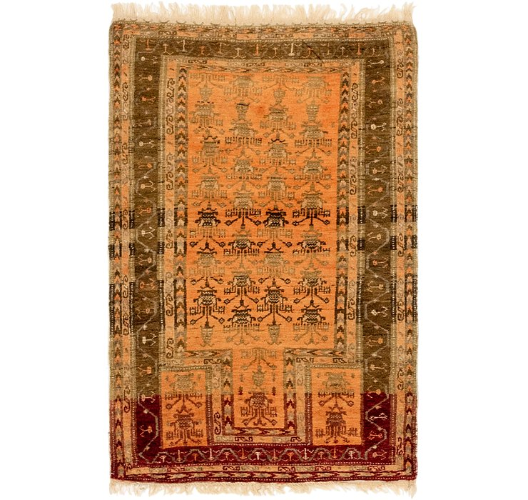 2' 8 x 4' 4 Anatolian Oriental Rug