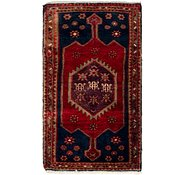 Link to 2' 6 x 4' 3 Hamedan Persian Rug