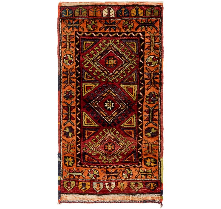 70cm x 137cm Anatolian Rug
