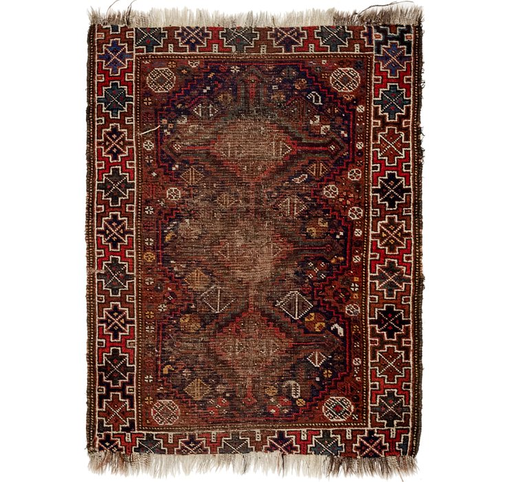 2' 10 x 3' 10 Shiraz Persian Rug