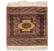 Link to 2' 2 x 2' 2 Bokhara Oriental Square Rug