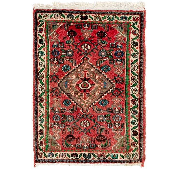 2' x 2' 10 Hamedan Persian Rug