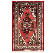 Link to 2' 2 x 3' 8 Hamedan Persian Rug
