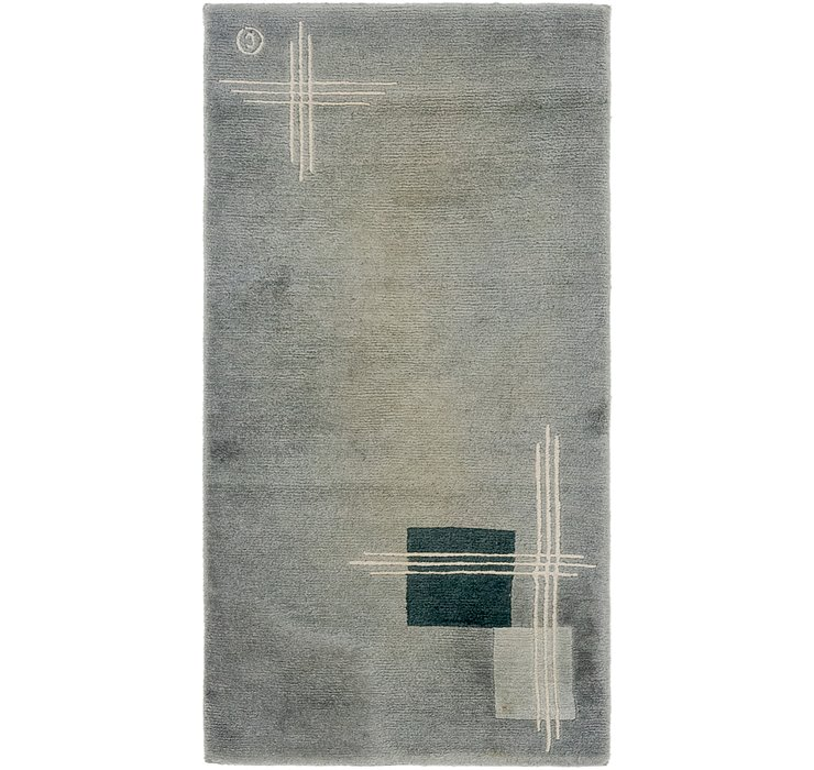 HandKnotted 2' 5 x 4' 8 Nepal Rug