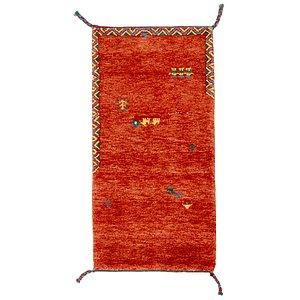 2' 4 x 4' 8 Shiraz-Gabbeh Persian Rug