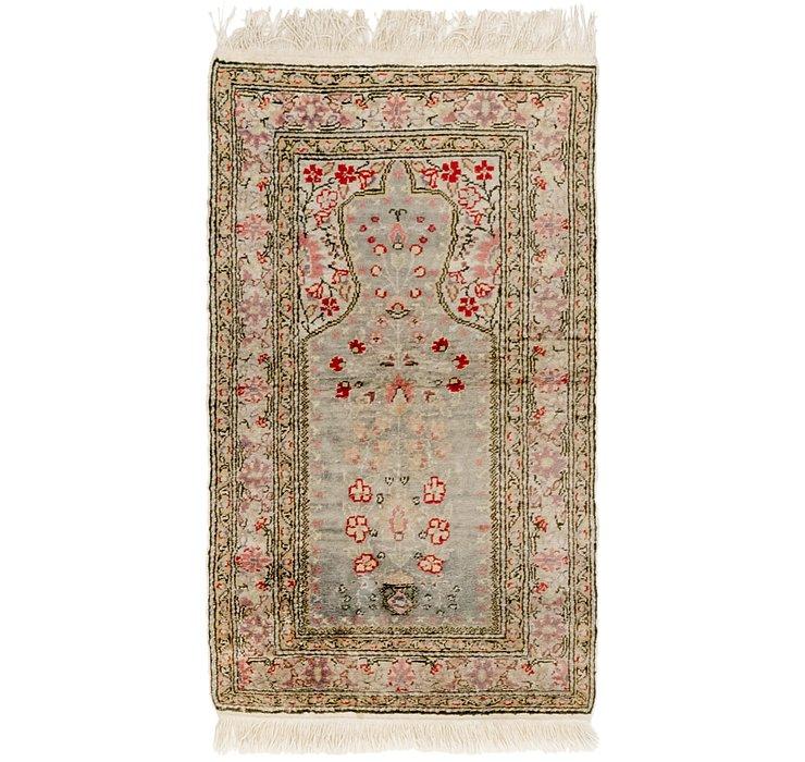 2' x 3' 5 Kashmir Oriental Rug