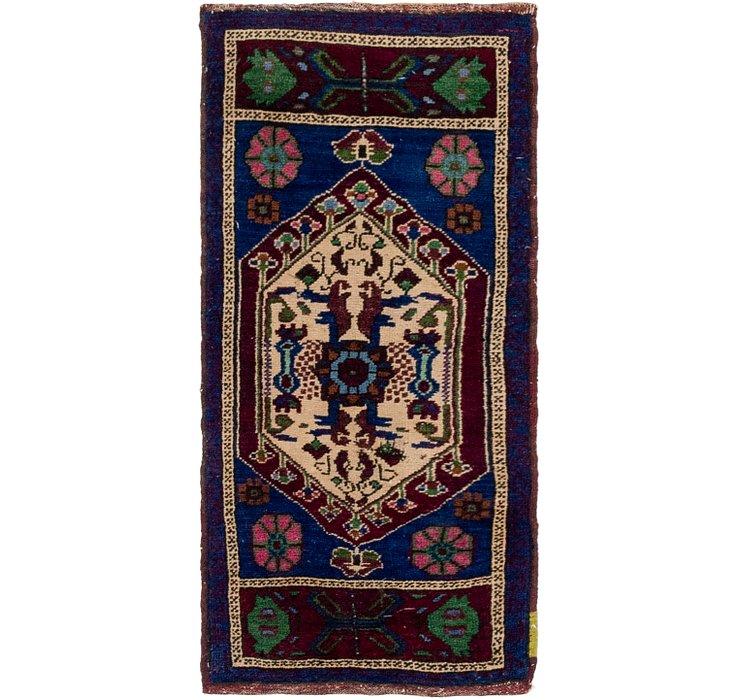 1' 6 x 3' 6 Anatolian Rug