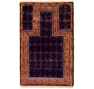 Link to Unique Loom 2' 7 x 4' 3 Balouch Persian Rug
