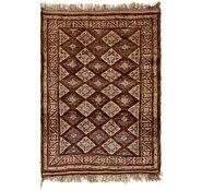 Link to 3' x 4' 4 Shiraz Persian Rug