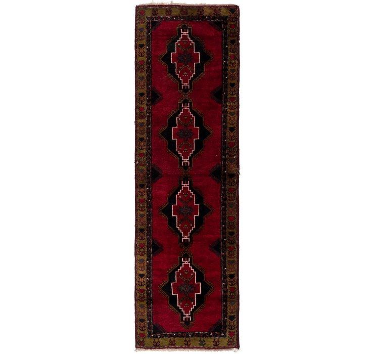 4' 2 x 13' 8 Anatolian Oriental Runn...