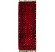 Link to 3' 3 x 9' 5 Afghan Akhche Runner Rug