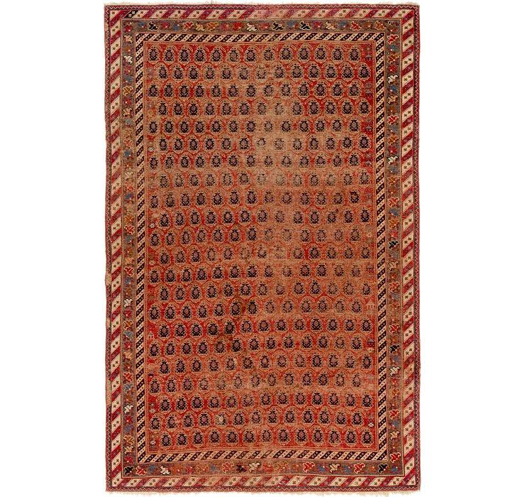 5' x 7' 7 Shirvan Persian Rug