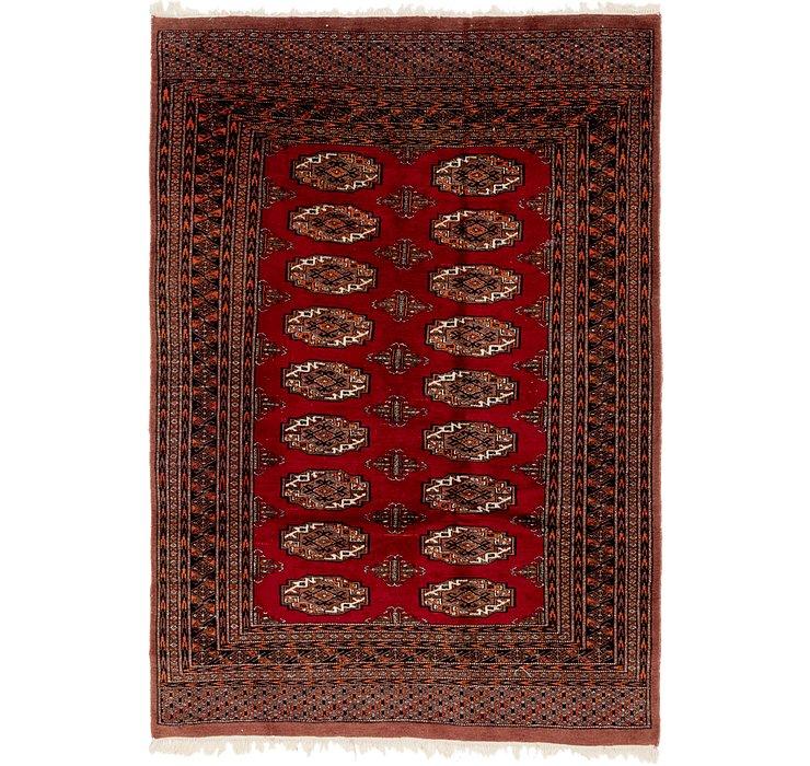 4' 4 x 6' Bokhara Oriental Rug