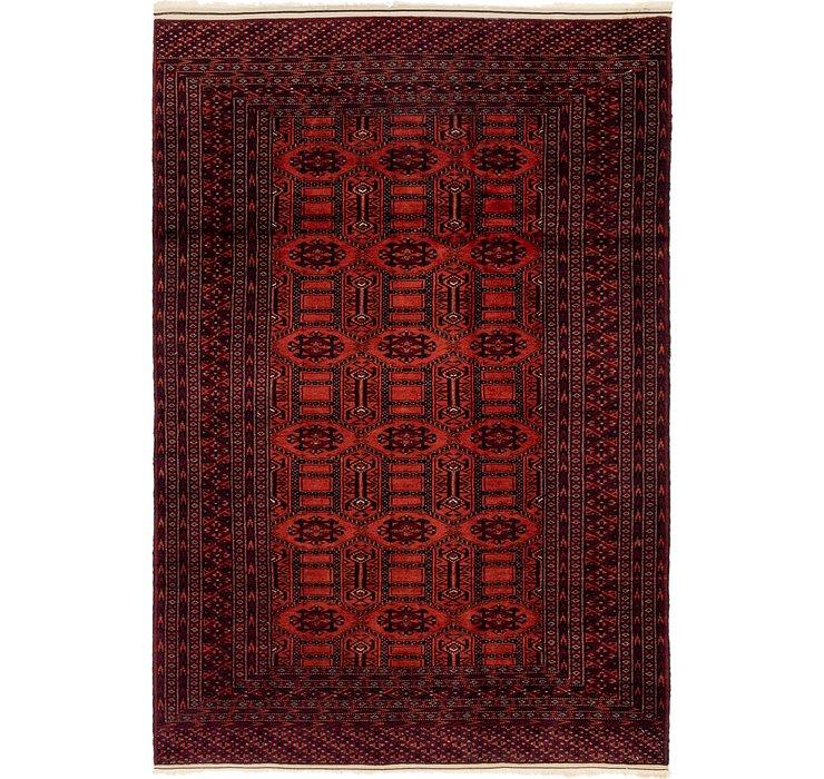 4' 3 x 6' 3 Bokhara Oriental Rug