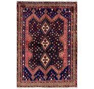 Link to 157cm x 225cm Yalameh Persian Rug
