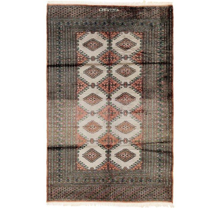 4' 3 x 6' 8 Bokhara Oriental Rug