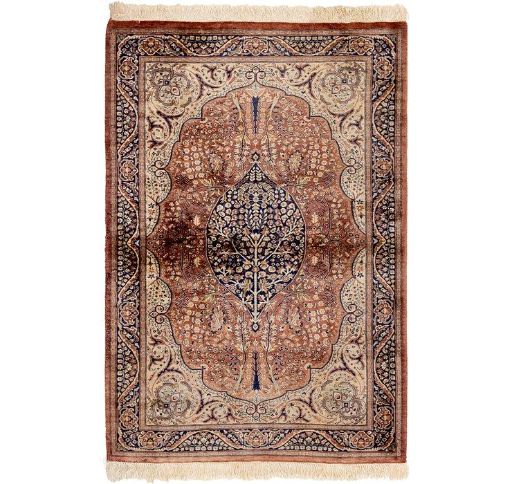 130cm x 188cm Sarough Oriental Rug