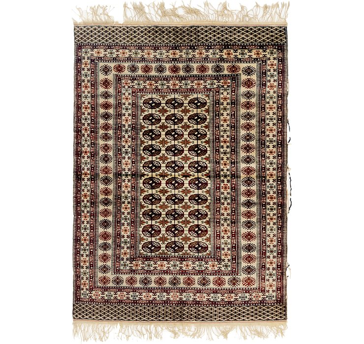 4' x 5' 9 Bokhara Oriental Rug