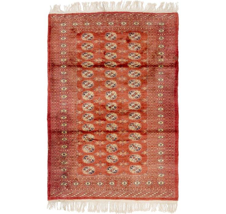 4' 3 x 6' Bokhara Oriental Rug