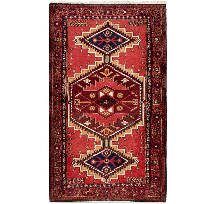 90cm x 160cm Gholtogh Persian Rug