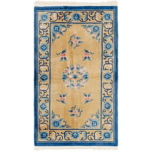 3' x 5' 3 Antique Finish Rug