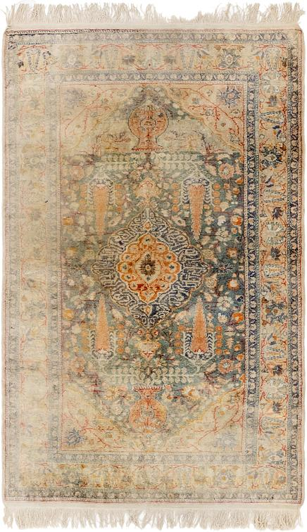 Blue 3 9 X 6 5 Hereke Oriental Rug Oriental Rugs Esalerugs