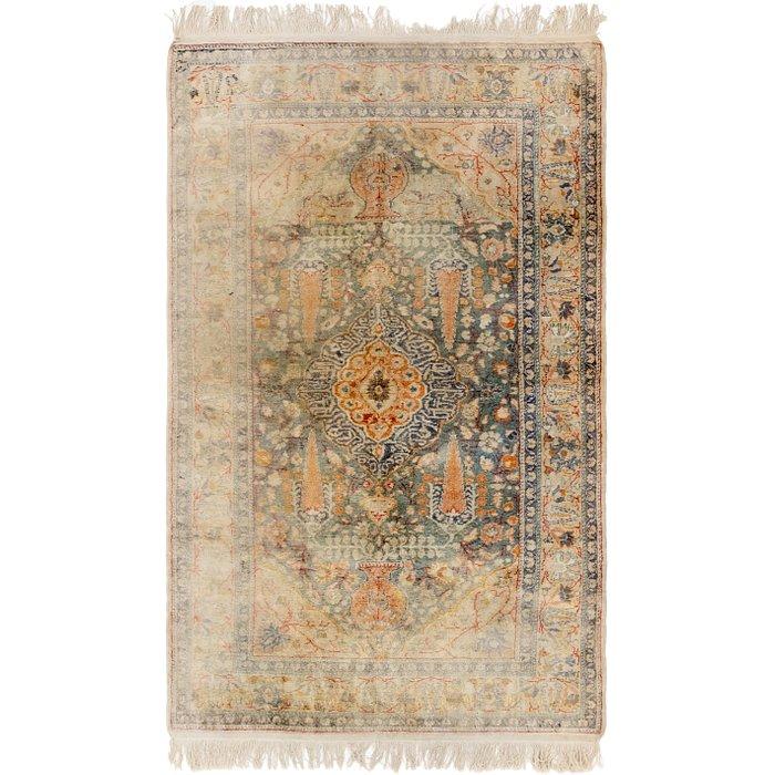 3' 9 x 6' 5 Hereke Oriental Rug