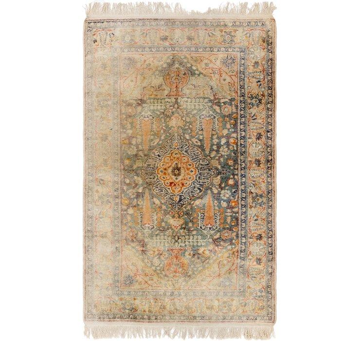 115cm x 195cm Hereke Oriental Rug