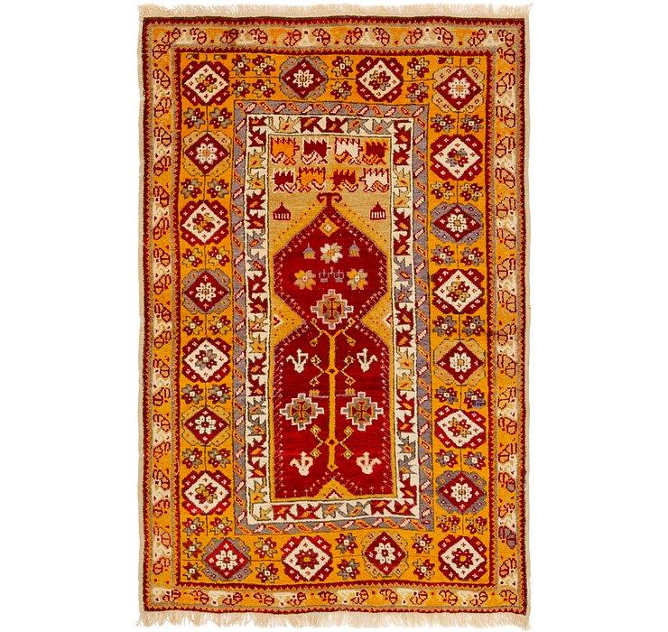 3' 9 x 5' 8 Anatolian Oriental Rug
