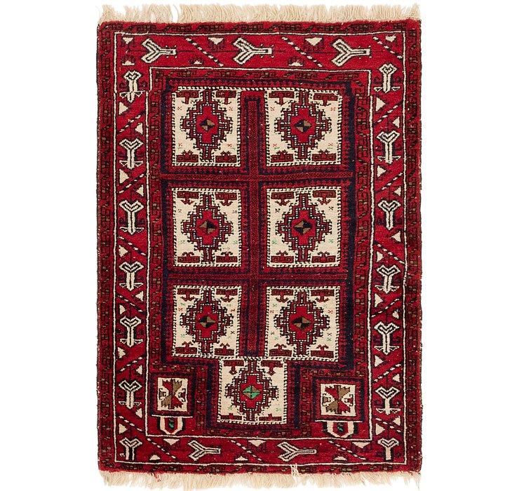 3' 2 x 4' 10 Balouch Persian Rug