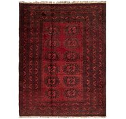 Link to 4' 5 x 6' 2 Balouch Persian Rug