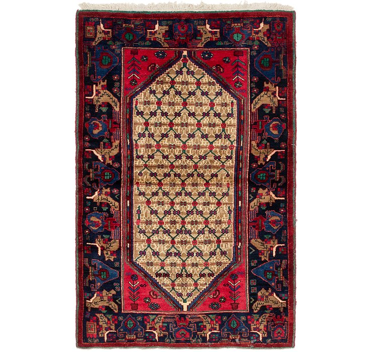 3' 10 x 6' Songhor Persian Rug