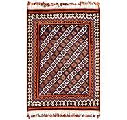 Link to 4' x 6' Kilim Fars Rug