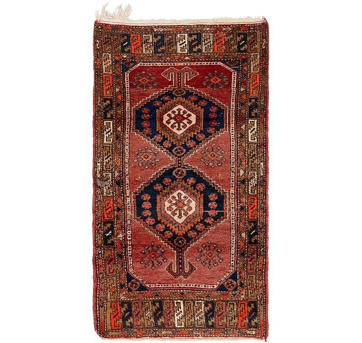 3' 7 x 6' 7 Hamedan Persian Rug