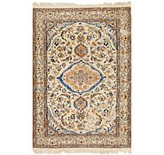 Link to 4' 3 x 6' 3 Nain Persian Rug