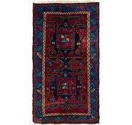 Link to 4' 8 x 8' 4 Zanjan Persian Rug