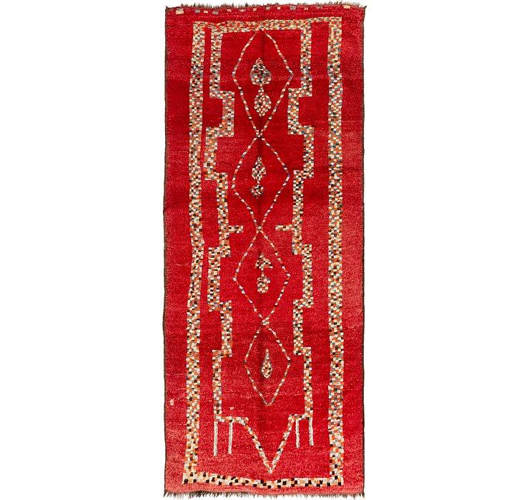 5' 4 x 13' 2 Moroccan Runner Rug
