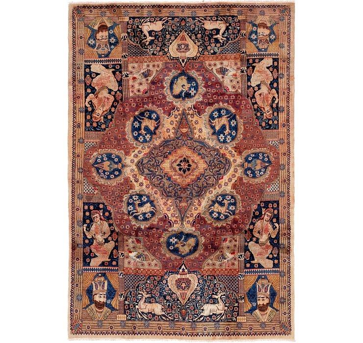 6' 7 x 9' 9 Kashmar Persian Rug