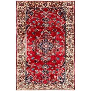 7' x 10' 8 Hamedan Persian Rug